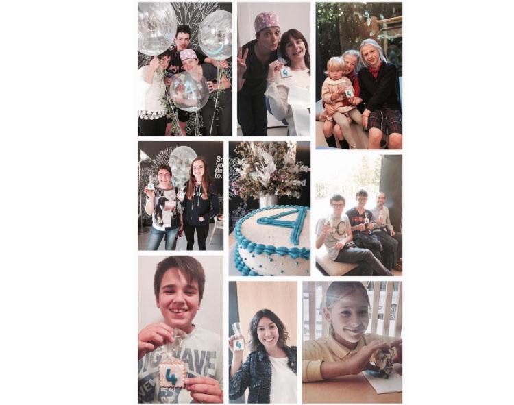 • Miles de sonrisas con las que nuestros pacientes nos han obsequiado cada día durante los 4 años que Ortodoncia Tres Torres Barcelona lleva en funcionamiento
