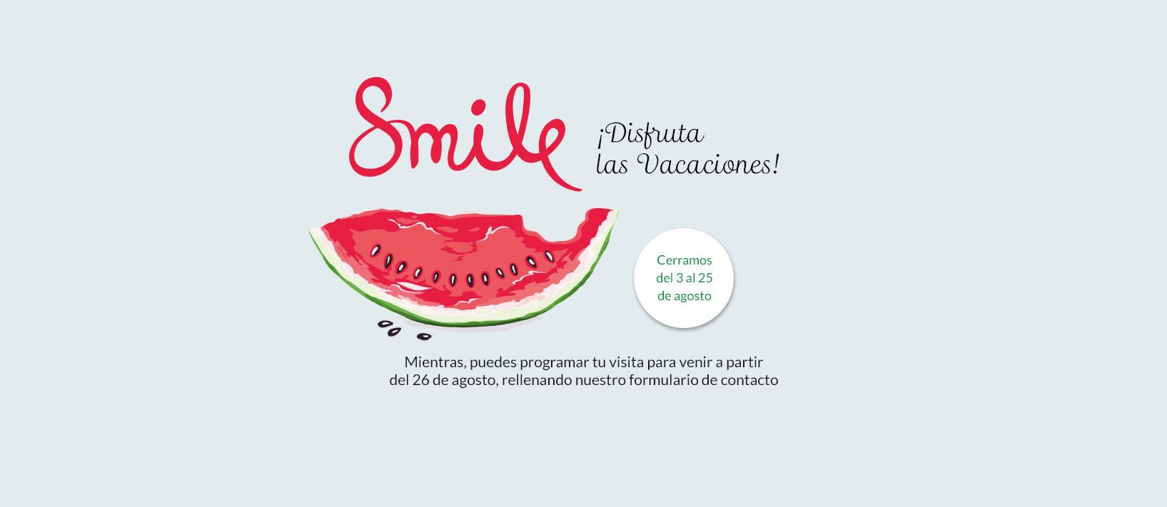 En ortodoncia tres torres clinica invisalign barcelona cerramos por vacaciones del 3 al 25 de agosto de 2019